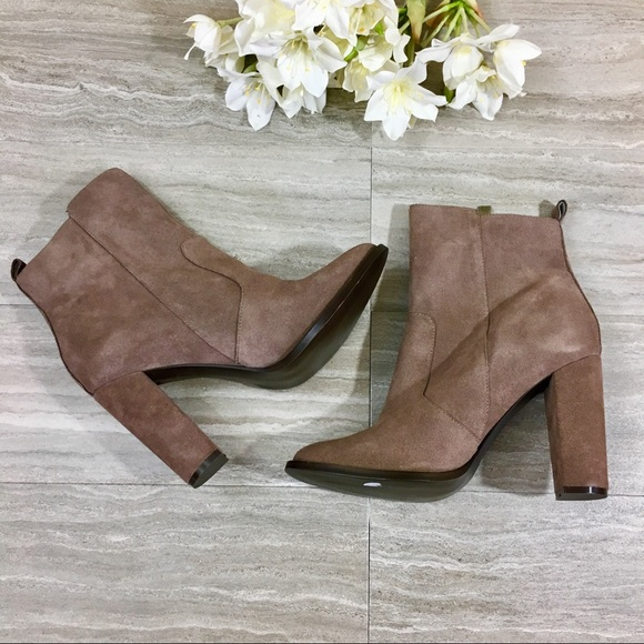 c221c80b84a Steve Madden Shoes - Steve Madden Suede Roooler Booties - Size 10